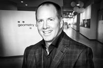 Geometry Global names Jim Carlton North American CCO