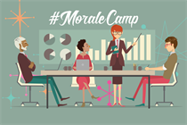 Not feeling great about your job? Join #MoraleCamp to discuss industry morale