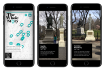 Y&R created an app that uses AR to close the gender gap--among statues