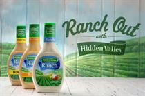 Hidden Valley Ranch takes on ketchup and mustard in new campaign
