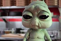 Pizza Hut's homesick alien ad breaks the QSR mold