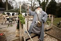 Virgin Media hosts Hobbit event at Chewton Glen