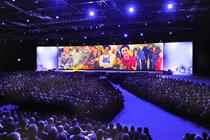 Tesco heads to London Docklands for management event
