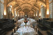 UK academic venues: up to 250 delegates
