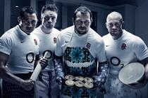 O2 'get up for England' by VCCP