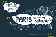 Eurostar '15th anniversary' by Fallon London