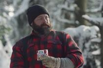 In amusing Dinty Moore spot, a lumberjack and beaver ditch the brew for stew