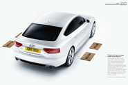 Audi 'feet' by BBH London