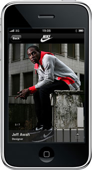 Nike 'iPhone app' by AKQA