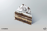 Nissan 'piece of cake' by TBWA\RAAD, Dubai