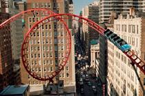 Barclaycard 'rollercoaster' by BBH