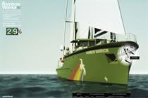 Greenpeace International 'Rainbow Warrior' by DDB Paris