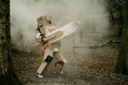 Phones4u 'cardboard warriors' by Adam & Eve London