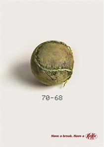 KitKat 'The longest tennis match ever' by JWT London