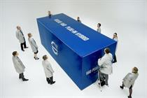 Volvo 'unboxing' by Mindshare Worldwide