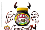 Marmite 'horrid henry' by Iris London