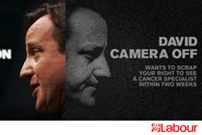 Labour 'camera on, camera off' by Saatchi & Saatchi London