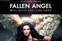 Lynx Excite 'fallen angel' by Tullo Marshall Warren