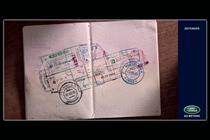 Land Rover 'Defender passport' by RKCR/Y&R