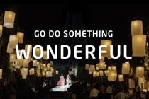 Intel 'go do something wonderful' by Wieden & Kennedy Amsterdam
