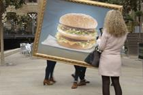 "McDonald's ""the Big Mac mind tests"" by Razorfish"