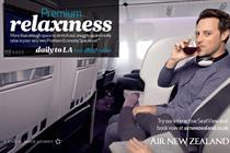 Air New Zealand 'premium enjoyment' by Albion