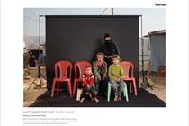 """Cafod """"lost family portraits"""" by M&C Saatchi"""