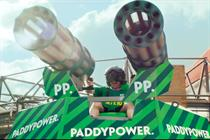 "Paddy Power ""shirt cannon"" by Lucky Generals"