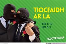 """Paddy Power """"Tiocfaidh Ár Lá"""" by BMB"""