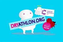 "Cancer Research UK ""Dryathlon 2016"" by Karmarama"