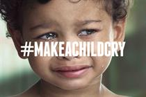 "Doctors of the World ""make a child cry"" by DDB Paris"