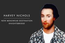 "Harvey Nichols ""great men deserve great style"" by Adam & Eve/DDB"