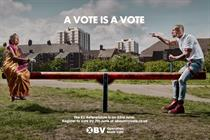 "Operation Black Vote ""see saw"" by Saatchi & Saatchi"