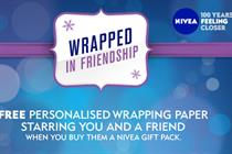 Nivea 'wrapped in friendship' by Agency Republic