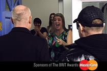 Mastercard 'Brit awards' by McCann Erickson London