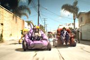 EA My Sims 'armchair racer' by Wieden & Kennedy Portland