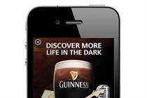 Guinness 'more life in the dark - iAd' by Tullo Marshall Warren