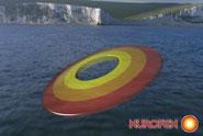 Nurofen 'target clifftop' by Euro RSCG