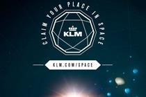 "KLM ""claim your place in space"" by Rapp and Tribal DDB Amsterdam"