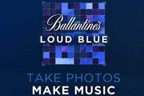 "Ballantine's ""Loud Blue"" by Work Club"