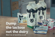 Lactofree 'flatmate and doorstep' by Wieden & Kennedy