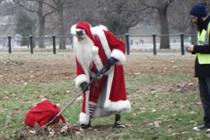 "Nestlé ""KitKat break Claus"" by JWT"