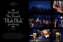 "Kronenbourg 1664 ""the French blah-blah"" by Sid Lee Paris"