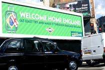 "Paddy Power ""welcome home poster"" by Crispin Porter & Bogusky"
