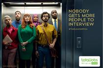 """Totaljobs """"#TheElevatorPitch"""" by VCCP"""