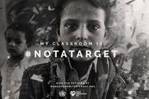 "United Nations ""#NotATarget"" by VML New York"