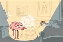 Australian campaign features misbehaving brains