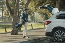 BMW swerves into humor in new spots