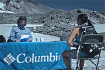 Columbia Sportwear job interview requires an impromptu mountain climb