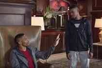 Celebrities crush boy's dream in holiday Foot Locker commercial